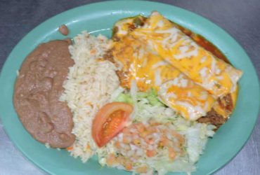 Enchiladas (chicken or beef)